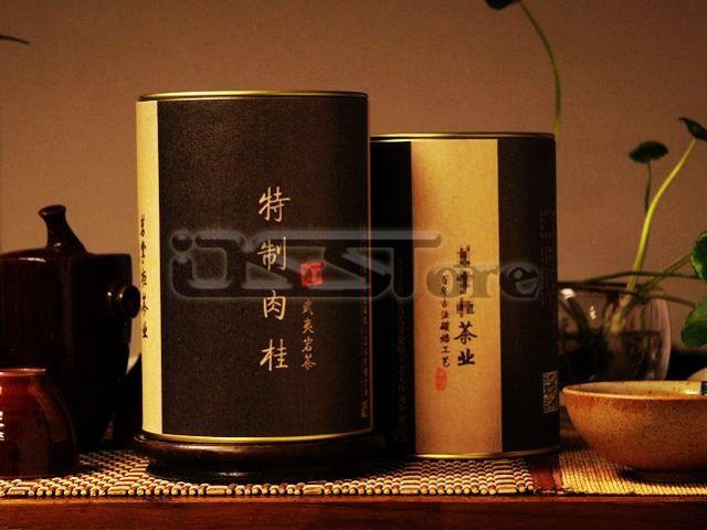 50g/lot AAAAA+ 5A+Rou Gui cinnamon Tea Sample Packaging WuYi Rock Oolong Cooked Baking Barley Fujian China Pure Natural Health(China (Mainland))