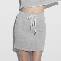 1313 v sexy sports wind vitality all-match large pocket drawstring sweatshirt short skirt 63060