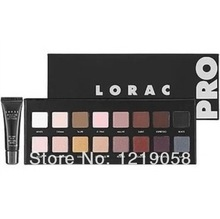 New Makeup LORAC PRO Palette 16 Colors Eyeshadow With Eye Primer Luminous Eye shadow Palette Band Makeup cosmetics(China (Mainland))