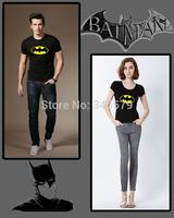 Free Shipping New 2014 Cartoon Batman T Shirt Men and Women Slim Fit Short Sleeve Online