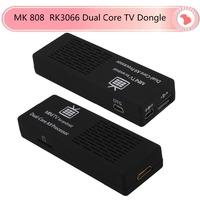 Free shipping MK808B MK808 Android4.2 HDMI TV Stick TV Dongle Rockship RK3066 Dual Core 1GB 8GB Mini PC Android MK808B Bluetooth