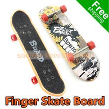 2PCS/LOT Finger Skate Board Novelty Toys Hobbies Finger Skateboards Child Knick-Knack Fingerboard Free Shipping(China (Mainland))
