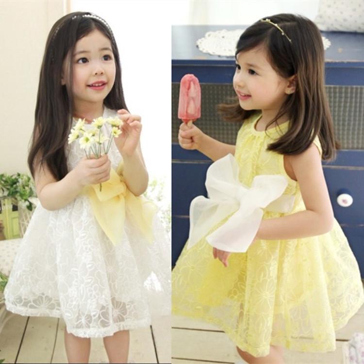 Girls dress cute toddler girl princess dress high quality baby girl