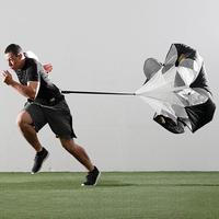 "Free Shipping New 56"" Speed Running Training Resistance Parachute Speed Chute Running Umbrella + Storage Bag #8345"