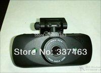 """2014New GPS HD Logger Dvr Novatek GS828 2.7""""TFT Screen Night Vision Tracker 160 Degree 130Mega G-Sensor Black Box Free Shipping"""