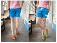 free Shipping 2014 fashion men's clothing Comfort drawstring cotton sport shorts summer man's shorts 19