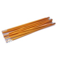 8.5mm Two-person Tent Frame Bar Rod Pole Set - Golden