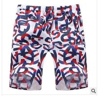 2014 men's beach shorts beach pants men's casual pants