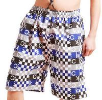 free Shipping 2014 men's shorts , Man of swimming trunks/short beach pants/household pants 8.4