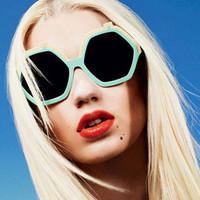 D-4257 2014 New Fashion Summer Vintage Sun Glasses Apple Shape Sunglasses Brand Design Eyewear For Women Sunglasses brand