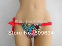 brazillian BUTT BIKINIS  flower bikini  brazilian tiny bikini Thong panties free shipping