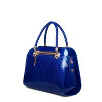 Gold blue butterfly women's bags 2014 women's handbag crocodile pattern handbag messenger bag female
