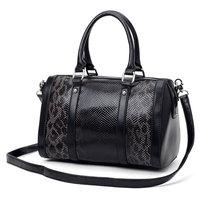 Tosoco women's handbag 2014 serpentine pattern bucket handbag messenger bag casual bag work