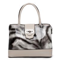 Tosoco 2014 women's handbag bag hasp bright japanned leather bag shoulder bag 211470
