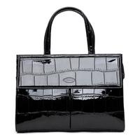 Tosoco japanned leather bag fashion briefcase fashion women's handbag 2014 82974 formal handbag
