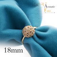 Crystal ring fashion brief crystal ring austria crystal mushroom ring