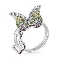 Popular quality accessories streamer Women sweet fashion ring
