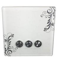 STRONG SENSE CS-8623SC 3-Key wireless wall  remote controller control  socket  switch
