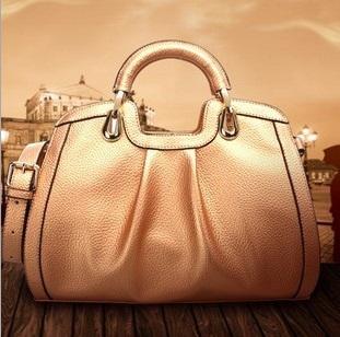 Pearl Orange 2014 Brand New Women Handbag Quality PU Leather Shoulder Messenger Bags Large Capacity Fashion Famous Totes AB8(China (Mainland))