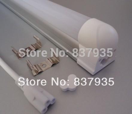 50pcs/lot T8 LED tube light Integrated 10W 48LEDs 600mm/ 0.6m/ 2ft/ 60cm SMD2835 0.2W 22~24lm/LEDs Aluminum+PC AC85~265V(China (Mainland))