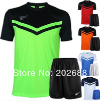 new arrived man's plain football kit.