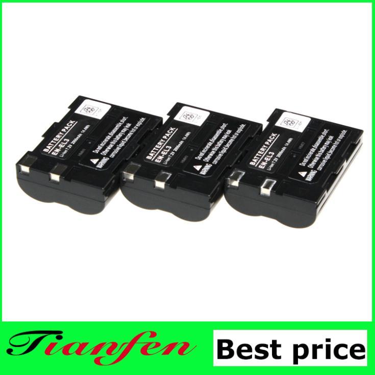 цена Аккумулятор Tianfen 3 EL3 en EL3 enEL3 NIKON D30 D50 D70 D90 D70s D100 D200 EN-EL3 онлайн в 2017 году