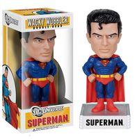 FUNKO WACKY WOBBLER DC HEROES SUPERMAN BOBBLE HEAD FIGURE