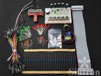 Starter Kit Raspberry Pi GPIO Extension Board T-Cobbler Micro Servo Sidekick LED