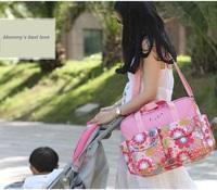2014 Free Shipping High quality baby diaper bags Nappy Mummy Bag Maternity Handbag baby bag Diaper Bags baby bolsa maternidade
