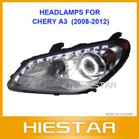 A3 HEAD LAMP xenon angle-eye for CHERY A3 Eyetears headlights
