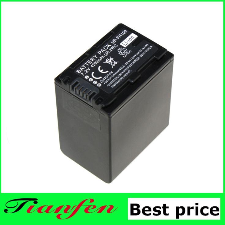Аккумулятор для фотокамеры Tianfen 1 6.8V 4500mAh NP/FV100 NP FV100 NPFV100 /sony XR150E CX550E CX350E CX150E NP/fv70 FV50 NP-FV100