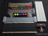 T-Cobbler, GPIO Extension Board Starter Kit RGB LED Push Button for Raspberry Pi
