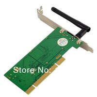 WHOSA 2in1 Wireless+Bluetooth Dual LAN PCI Card Internal Wifi Computer PC IEEE 802.11 F1813