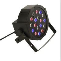 IN PROMOTION #18X3W LED Par Light 54W RGB PAR64 DMX PAR Stage Lighting