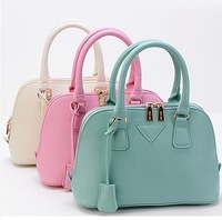 Scrub material Women portable small bags shell bag messenger bag women's handbag