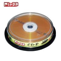 Big minda 52x cd-r blank disc cd cd-rom discs 10  2014 free shipping