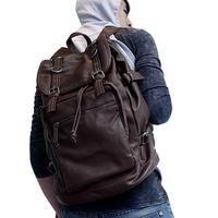 Vintage fashion bag student school bag men's bag backpack shiralee travel bag