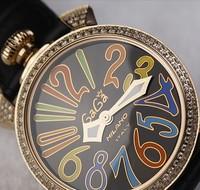 Wooden box popular diamond watch gaga watch luxury ladies watch quartz 305g 1