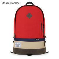 Free shopping new 2014 Herschel heritage patchwork hit color backpack school bag double-shoulder kid bag travel backpack