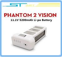 2014 Original Dji lipolymer lipo battery 11.1V 5200mAh For DJI Phantom 2 Vision quadcopter free shipping