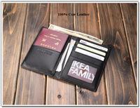 2014 Luxury Leather Passport Holder business Men Designer Leather Passport Wallet,card holder   sku:952210-MT-PP-77-Z-01