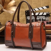 New arrival women's shoulder bag fashion vintage handbag cowhide leather large bag High quality special totes, promotion price