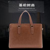 Free Shipping Howe Kangaroo 2014 spring man handbag cross-body male commercial one shoulder casual cowhide genuine leather bag