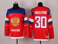 2014 olympic hockey jerseys russia 13 datsyuk 30 vasilevski