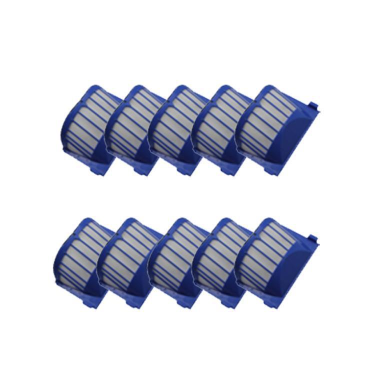 20X substituição AeroVac filtro azul fo iRobot Roomba 536 550 551 552 564 595 630 650(China (Mainland))