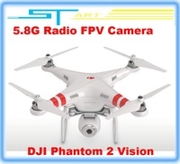 2014 Hot DJI Phantom 2 Vision GPS RC Quadcopter With 5.8G Radio FPV Camera Professional Aerial Photography helicopter gift