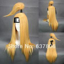 bela loira akatsuki deidara peruca cosplay(China (Mainland))