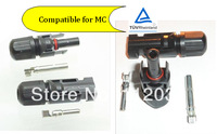 2014 Hot sale PV solar  connector Compatible for MC,high efficient 20pair/lot  fast shipping