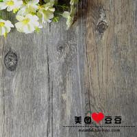 Vintage ash wood grain background board props photography props 45*45cm