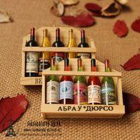 Zakka mini vintage bottle wine props photography props photo props 5 small bottle
